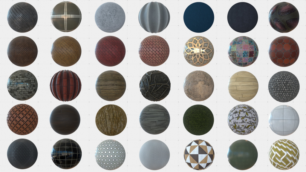 free cinema 4d materials instant download - c4dcenter material library