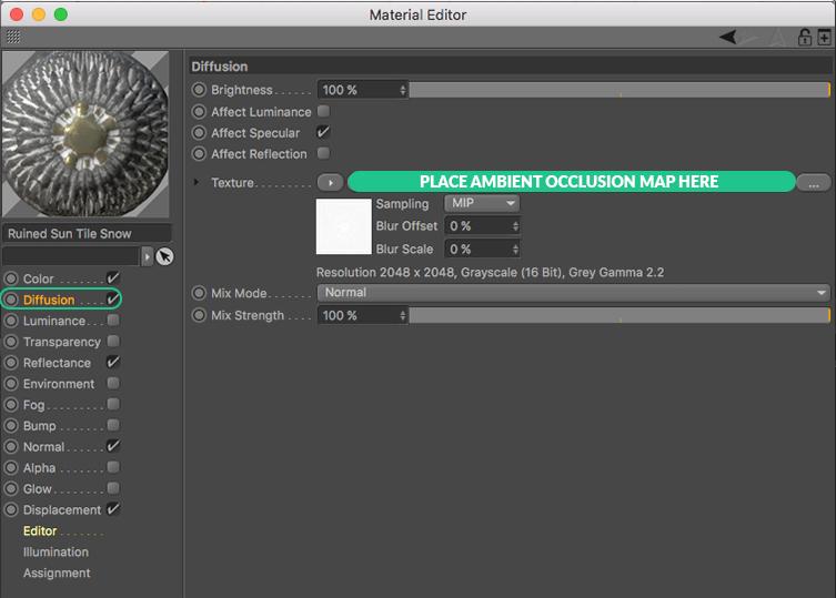 About Texture Maps - C4DCenter