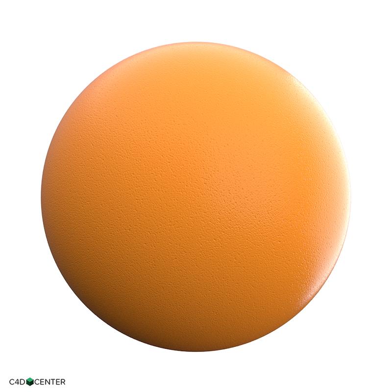 4K Orange-C4D Material - C4DCenter