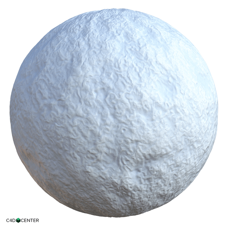 4k Snow 02 C4d Material C4dcenter